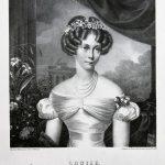 F. Krüger, Księżniczka Luiza, 1825, litografia na papierze czerpanym