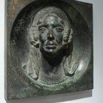 """O. König, """"Portret Felicji z hr. Mniszków księżnej Lubomirskiej"""", Wiedeń?, Austria, przed 1855, brąz, odlew, Muzeum Okręgowe w Rzeszowie"""