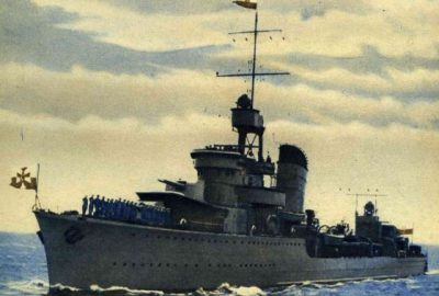 Polska Marynarka Wojenna w II wojnie światowej (4 września -31 grudnia 2009)