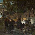 """J. Brandt, """"Kozak konia poił"""", 1874, Kolekcja Iwony Skornowicz i Jacka Chojki"""