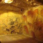 Galeria sztuki w jaskini, fragment ekspozycji, fot. Joanna Ligoda