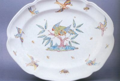 """Porcelana i fajans XVII-XX w. (wystawa archiwalna – obecnie stanowi część stałej wystawy """"Galeria rzemiosła artystycznego"""")"""