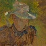 """J. Malczewski, """"Julia- córka artysty"""", ok. 1902, Kolekcja Iwony Skornowicz i Jacka Chojki"""