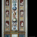 Loggie Watykańskie, Groteski /pilaster XII/, Rzym, III ćw. XVIII w.