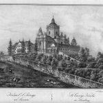 it. Karol Auer (1818-1859), Katedra św. Jura we Lwowie, Lwów, poł. XIX w., Pracownia litograficzna P. Pillera, papier, litografia