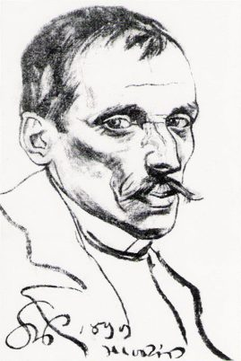 Portret Tetmajera autorstwa Stanisława Wyspiańskiego, 1899